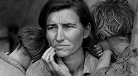 Žena, hladomor